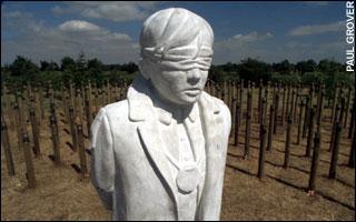 Grande Bretagne : Monument en mémoire des fusillés pour l'exemple
