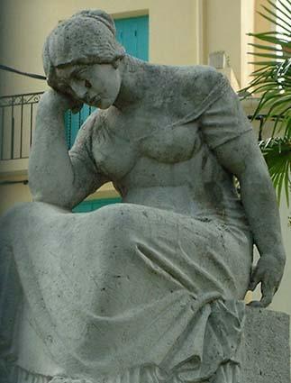 C5 Ceret : la pleureuse de Maillol