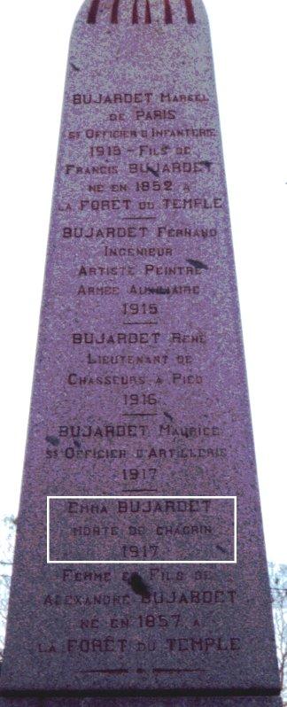 F2 L'arrière du monument