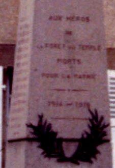 F1 Monument avant epitaphe