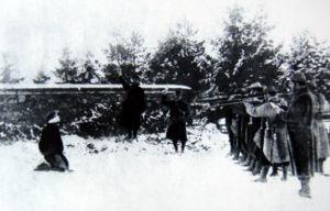 A0 Verdun exécution en 1917