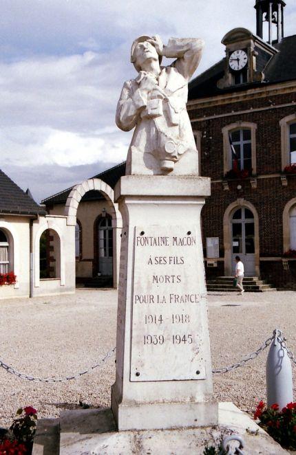 Fontaine Mâcon dans l'Aube